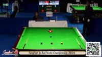 Snooker 6 Red World Championship 2016 - GB - Chau Hon Man VS Songsermsawad 1-7
